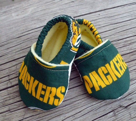 Crib Shoes Packers Green Bay