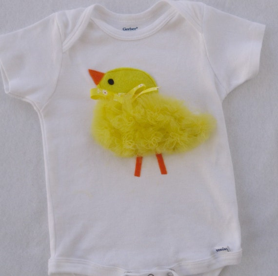 Baby Chick Tulle  / Baby Girl