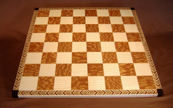 Herringbone Chess Board
