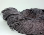 "Merino Mulberry Silk Laceweight Yarn - ""Dark Days"" - UK Seller"