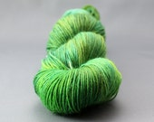 """Hand Dyed Sock Yarn """"When Dragons Fly""""  - UK Seller"""