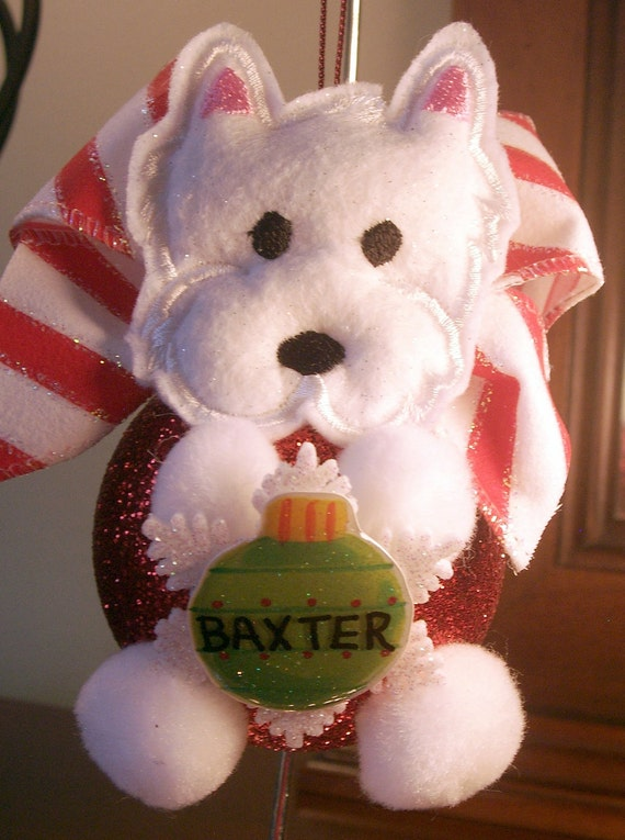 Items similar to dog ornament personalized terrier