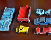 1960s Tootsie Toys - Lot of Six DIe Cast Collectibles... Free Shipping within U.S.