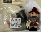 Needle Felt Gnome Kit