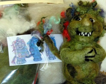 Needle Felt Troll Kit