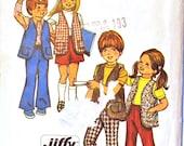 Vintage Simplicity 5336 Boys/Girls Vest, Skirt, & Pants