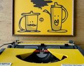 teapot -teacup poster