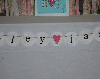 Bridal Shower Banner, Wedding Banner