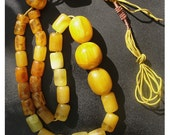 Amber Meditation Beads. SOLD.