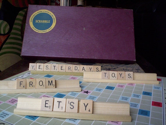 Vintage Scrabble Game