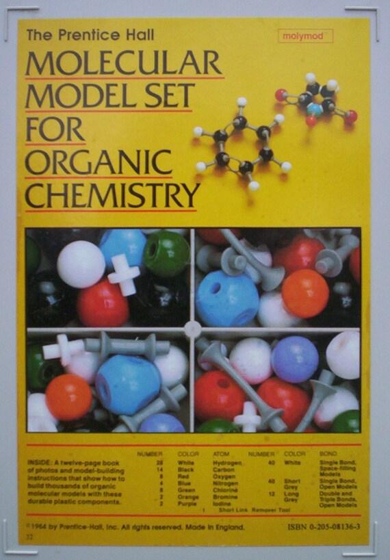 Mollecular Model Set 1984 Prentice Hall Molecular Model Set