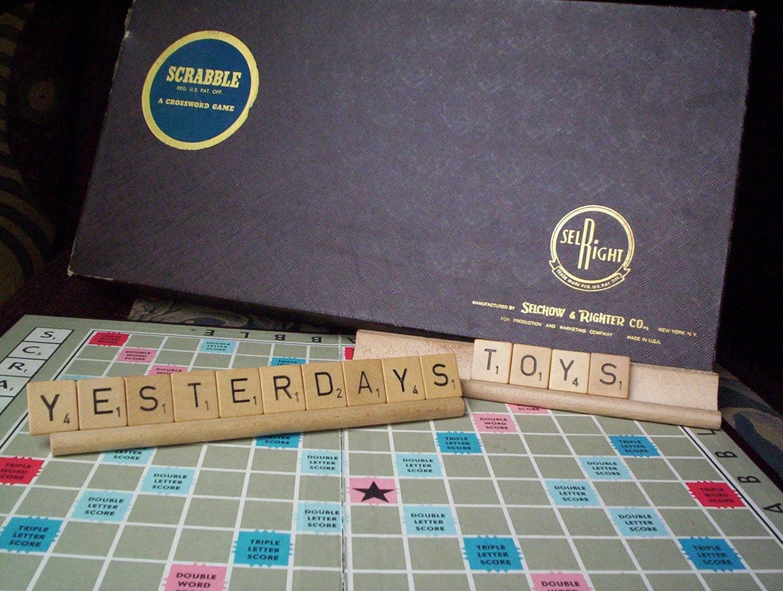 Vintage Scrabble Games 21