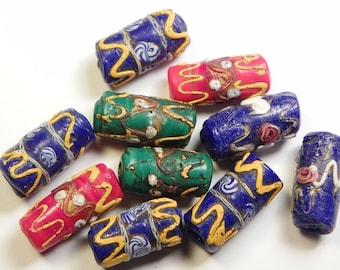 Vintage Venetian African Trade Beads (VINMELF002)