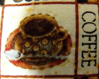 Coffee lovers Pillow  Handmade Hand Embroidered kitchen decor