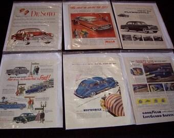 Vintage Classic Auto Advertising