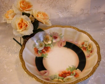 Vintage Empire China Serving Bowl Large Family Size Company Coming Shabby Chic