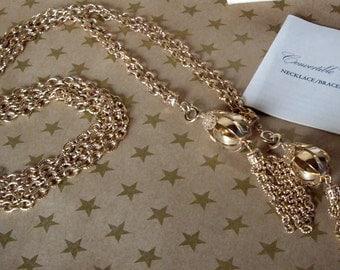 Vintage Avon Pendant Versatile Necklace Belt Bracelet Royal Occasion 1973