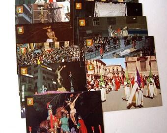 Vintage Post Cards Dominguez Spain 1953