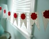 pennant garland Simplicity