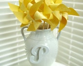 SUNNY YELLOW set of 8 Large Gourmet Pinwheels