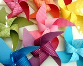 Pinwheels YOU PICK the COLORS set of 8 Large pinwheels