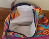 Handmade Navajo Inspired Clutch or Makeup Bag