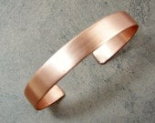 Copper Cuff Bracelet Blank Ready to Work