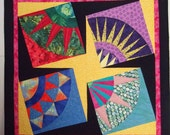 Multi-color Quilted Wall Hanging