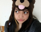 PEDOBEAR brown winter hat