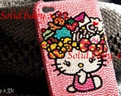 Bling Bling Swarovski  iphone4/4s case Hello Kitty (Candy)