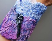 Georgeous hand felted cuff