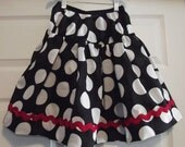 Reserved Listing for Kelley B - matching mother daughter minnie twirl skirts :)