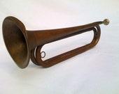 Vintage Brass U.S. Regulation Bugle