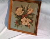 De Jonge Framed Floral Print