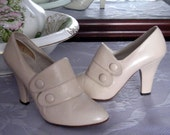Vintage 1970's Shoes in a 1920's style size 7 1/2 B