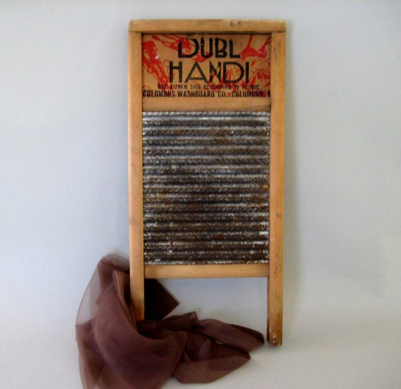 Washboard, Dubl Handi, Washboard, Antiique Washboard