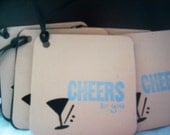 Martini Time  CHEERS Gift Cards Qty 10