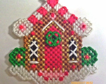 Gingerbread House ornament or Magnet