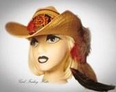 Cowboy Cowgirl Hat FSU Florida State Collegiate Embellished