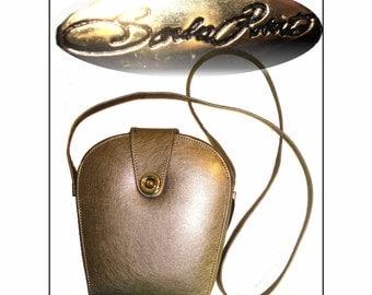 Vintage Designer Purse . 1980s . Dust Cover . Unusual Shape . Shoulder Bag - Couture . Sandra Roberts