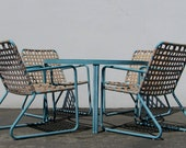 Iconic Mid Century Modern Patio Set by Brown Jordan