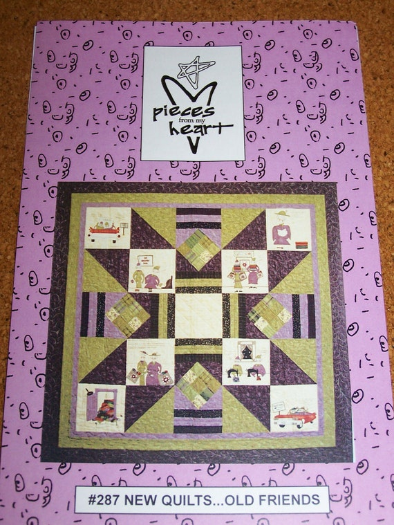New Friends Old Friends Quilt KIT Pattern and Fabric by Moda 287