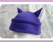 Purple Cat ears Anime Hat