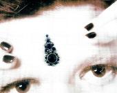Bindi - Antique Silver & Siam - Sarasvati's Dream