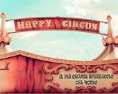 Paris Photo -The Greatest Show On Earth - Paris, France - Fine Art Photography Print of Old Fashioned Circus Bigtop - 8x10