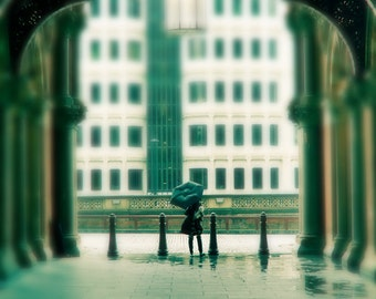 London photography, London art print, London gallery art - London Rain
