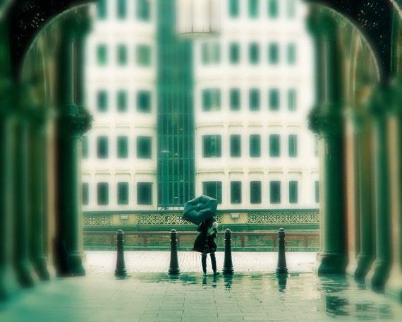 London photography, London art print, London gallery art - London Rain