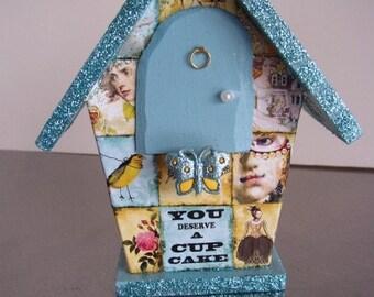 Renaissance Fairy lives in the Tea Fairy House