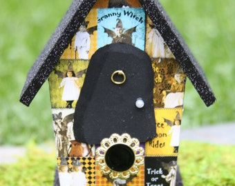 Batty Woman Fairy lives in the Scary Fairy House