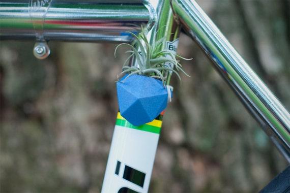 Geometric Bike Planter, in Blue: Wearable Planter